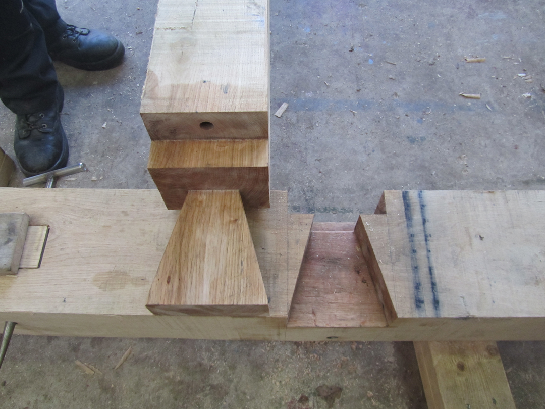 Shouldered Dovetail Joint