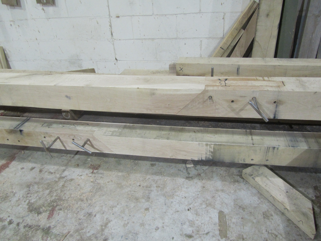 Bridle scarf joint